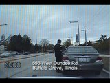 Dashcam Crash: Man Backs Over Buffalo Grove Police Car(Best)