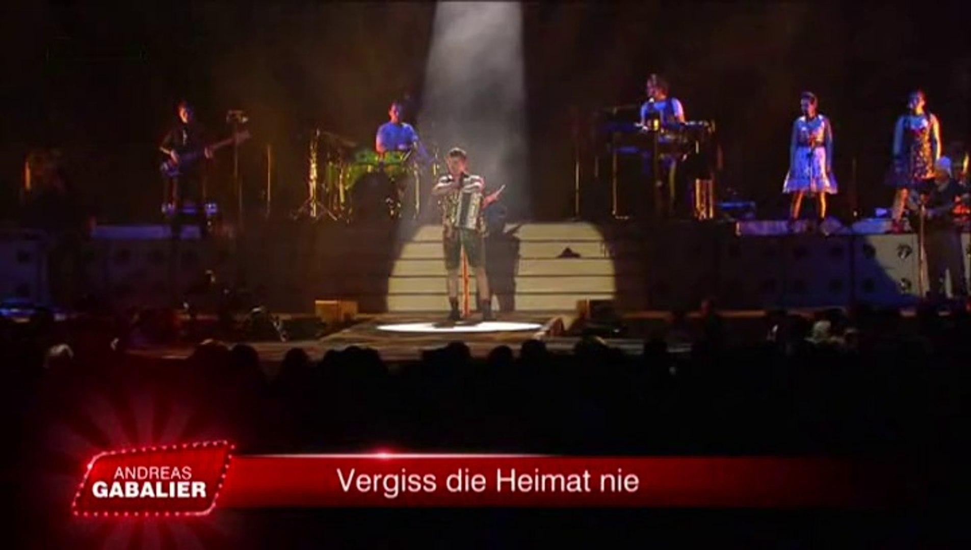 Andreas Gabalier Vergiss Die Heimat Nie 2015 Video Dailymotion