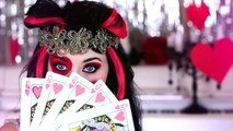 Lizzie Hearts Ever After High Makeup Tutorial