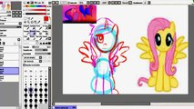 My Little Pony Friendship is magic   Finger family My little pony painting