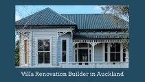 Best Mt Eden villa renovations builder.