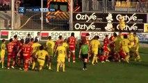 Rugby : Bagarre en  ProD2 entre Carcassonne et Perpignan