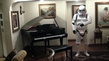 Starwars, The Imperial March on Piano  ( Darth Vader's Theme )