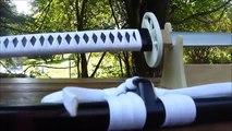 Wooden Katana Tutorial Part 22- White Tiger Katana