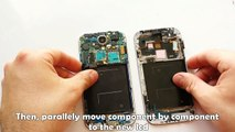 Samsung Galaxy S4 Touch Screen Digitizer & LCD Repair / Disassembly & Assembly