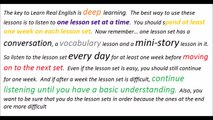 Daily English conversation with subtitle learn english online