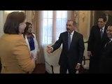 Danilo Medina recibe a presidentes de tribunales supremos de Justicia de varios países