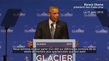 Obama sur le changement climatique - Nous n'avançons pas assez vite...