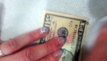 50 Dollar Bill is actually a 10 Dollar Bill [Fake Dollar Bill] Original