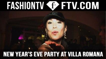 Michel Adam, Maria Mogsolova & Flo Rida New Year's Eve Pre-Party at Villa Romana, Dubai | FTV.com