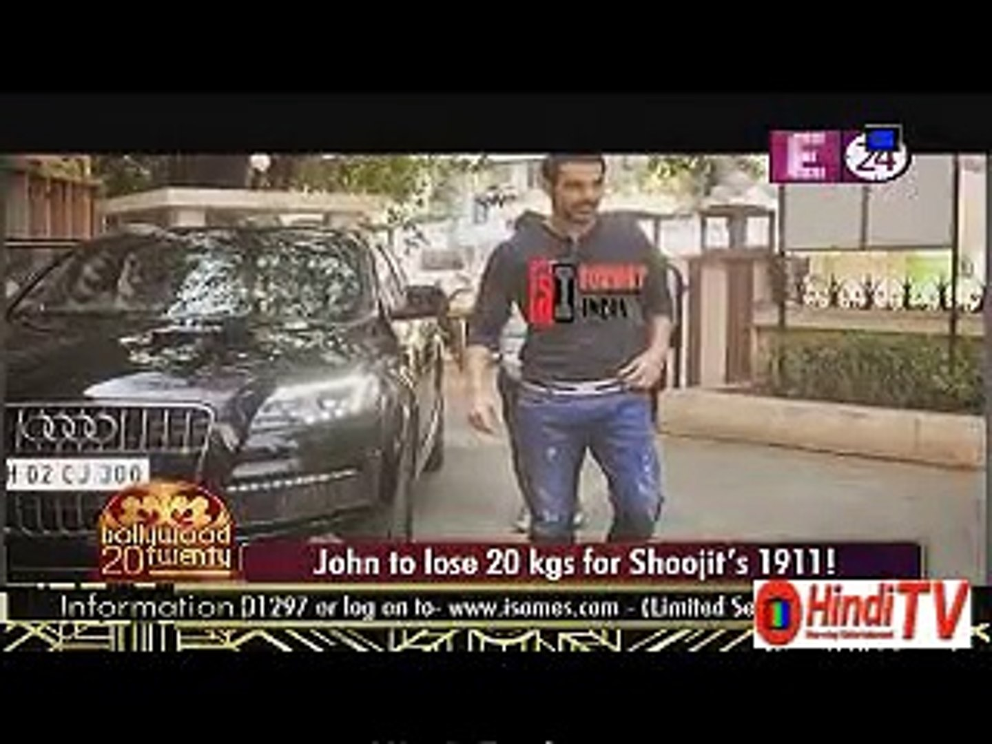 John To Lose 20 Kgs For Shoojits 1911 2nd September 2015 Hindi-Tv.Com