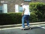 Skateboarding on a Sunday in South Carolina