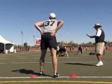 Football Kicking Coach: William Batson's Punter's Workout at Coach Zauner's Free Agent Combine