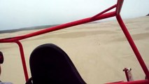CLIMBING A 400 FOOT SAND DUNE GOING APESHIT WITH SKEETER IN OREGON SAND DUNES PARK FLORENCE OR
