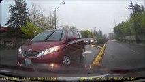 Une conductrice provoque un accident et accuse l'autre conducteur.... Mauvaise foie!