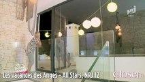 Les vacances des Anges - All Stars - Myriam Abel percute une baie vitrée