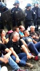 Occupation DRAAF Lyon : ambiance peu avant l'expulsion