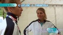 Championnats du monde Aiguebelette 2015 - Quart de finale LW2x