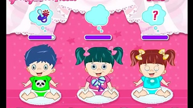 Take Care Of Baby Kids Take care of the baby twins Video Game for Kids