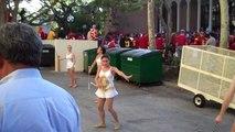 2010 USC Baton Twirlers practice before USC Football Game 9-11-2010 (3).MP4