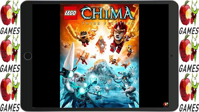 LEGO Legends of Chima game for iOS/Android - Ipad Gameplay Video