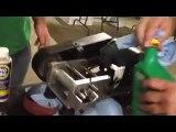 Oil additive Pro Tec test