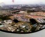 A320 Air Asia Landing At Kuching International Airport