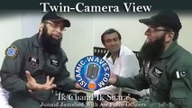 """New Junaid Jamshed """"Ik Chand Ik Sitara"""" With PAF Officers Twin-Camera View"""