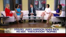 NFL star sends back his sons' 'participation' trophies - James Harrison wants his kids to 'earn' the