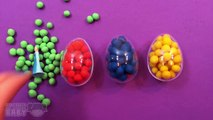 Learn Colors Dippin Dots Play Doh Surprise Eggs Disney Frozen Minnie Mouse Peppa Pig Surprise Toys