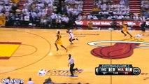 Dwyane Wade Sick Fast Break JAM (6.3.2013) NBA ECF GAME 7