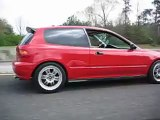 H22 Honda Civic Hatchback All Motor 3rd Gear Pull