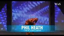 Kai Greene  VS  Phil Heath at MrOlympia    'Olympia Posing'