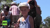 Russia: Army exhibit attracts thousands in Sevastopol