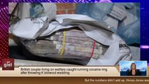 British couple living on welfare caught running cocaine ring after throwing a blowout wedding