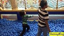 Fun Activity: Zipline over the Pool of Plastic Balls, Kiddie Slides, Kid's Playtime, etc...