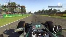 F1 2015 Monza Grand Prix Circuit Onboard Lap Lewis Hamilton | PS4