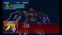 Super Robot Wars GC - Big Zam Attacks
