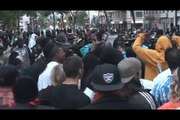 "Riot in Oakland After Killer Cop Gets ""Involuntary Manslaughter"" Charge (Rough Cut)"