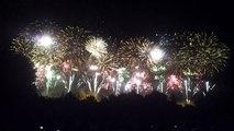le Bouquet final du feu d'artifice de la cité de Carcassonne HD 14 juillet 2013