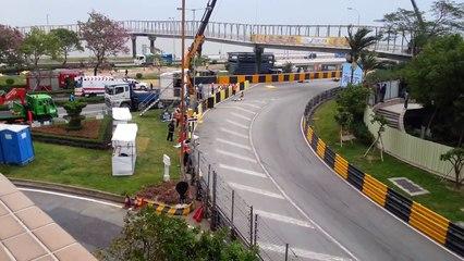 Luis Carreira Fatal crash 2012 Macau Grand Prix