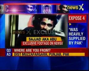 Captured Pakistan terrorist Sajjad Ahmed trained in LeT camp