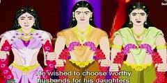 Bhishma Stories - Short Stories from Mahabharata - Bhishma's Courage - Animated Stories for Kids