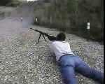 PTRS Anti-Tank Rifle in Action