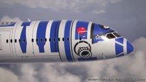 ANA Boeing 787-9 with R2-D2 Paint Scheme