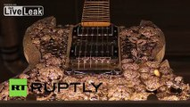 Germany: This $2 mln gold-diamond guitar is the world's most expensive