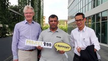 AirAsia Tony Fernandes supports Project 100!
