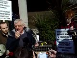 Joe Higgins MEP speaking at a protest outside Anglo Irish Bank (01-04-10) [Part 2]