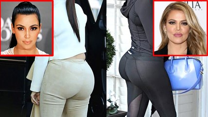Kim V/S Khloe Kardashian | Booty War