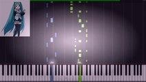 Hatsune Miku] ローリンガール Rolling Girl Piano Synthesia